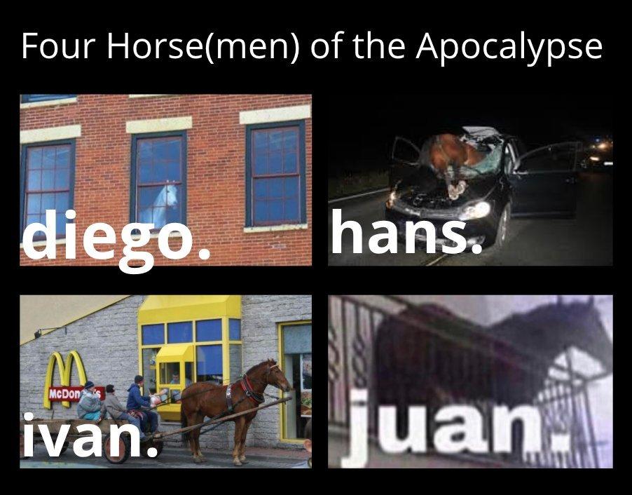 horsmen - meme