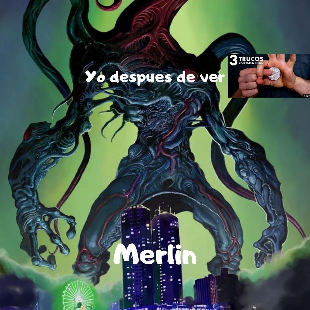 Ahora soy un poderoso hechicero y destruiré el mundo :greek - meme