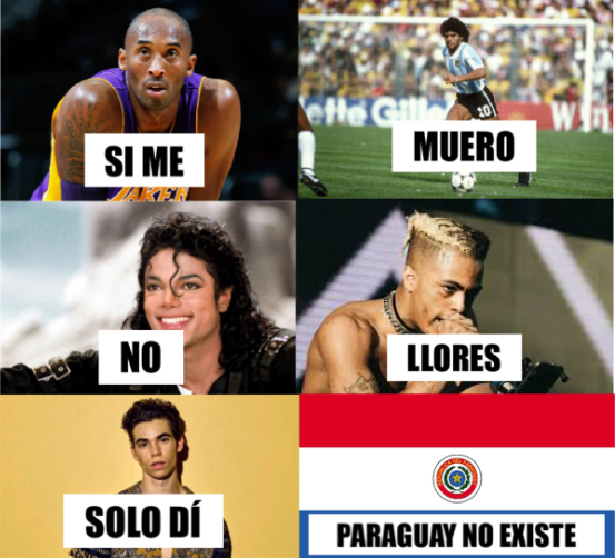 PARAGUAY NO EXISTE Y LO SABES - meme