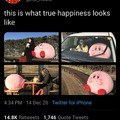 It's kirby the wholesome pink guy