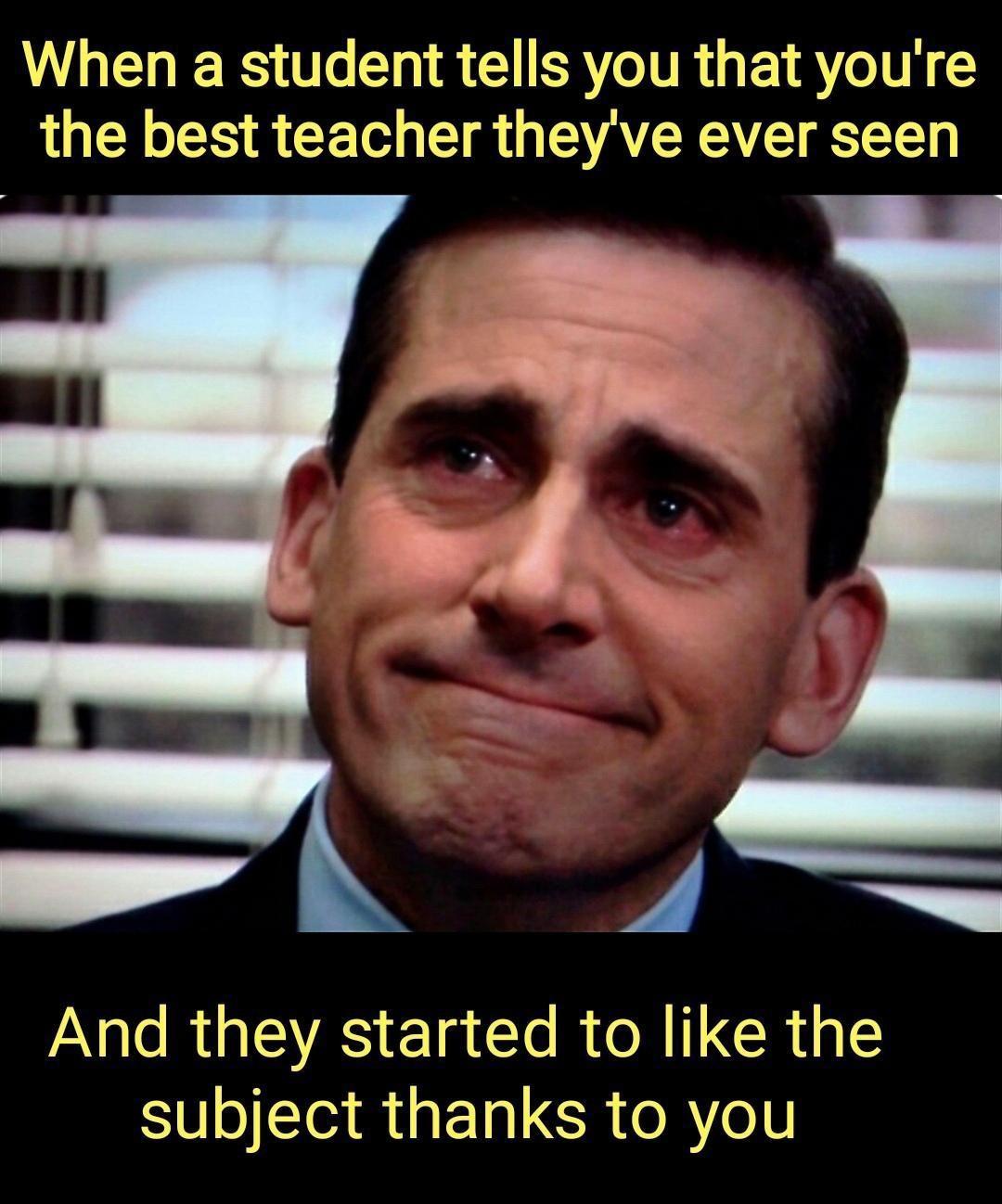 good teachers are gems - meme