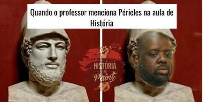Péricles - meme