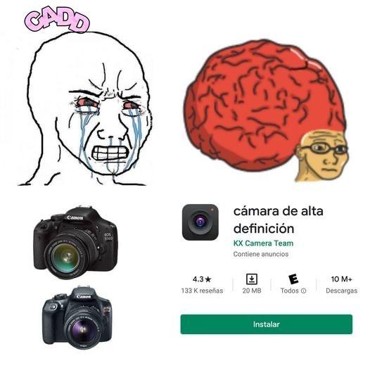 kmara de alta definición 4K - meme