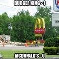 1 round Burger King