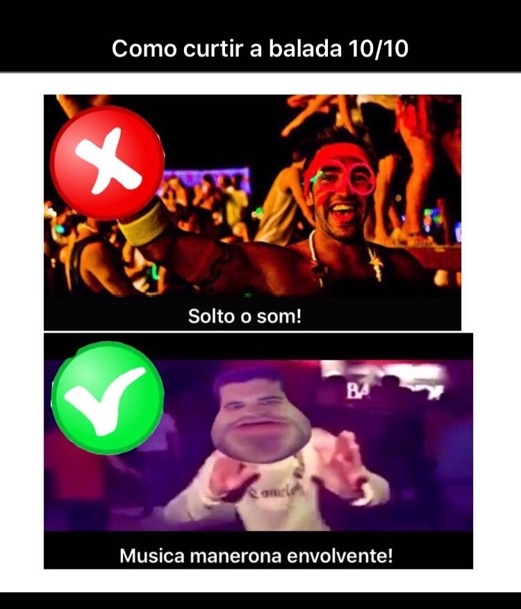 essa música é manera pra krl - meme