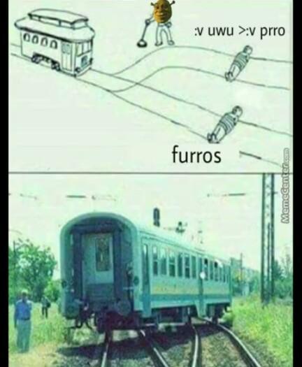 Pinches furros - meme