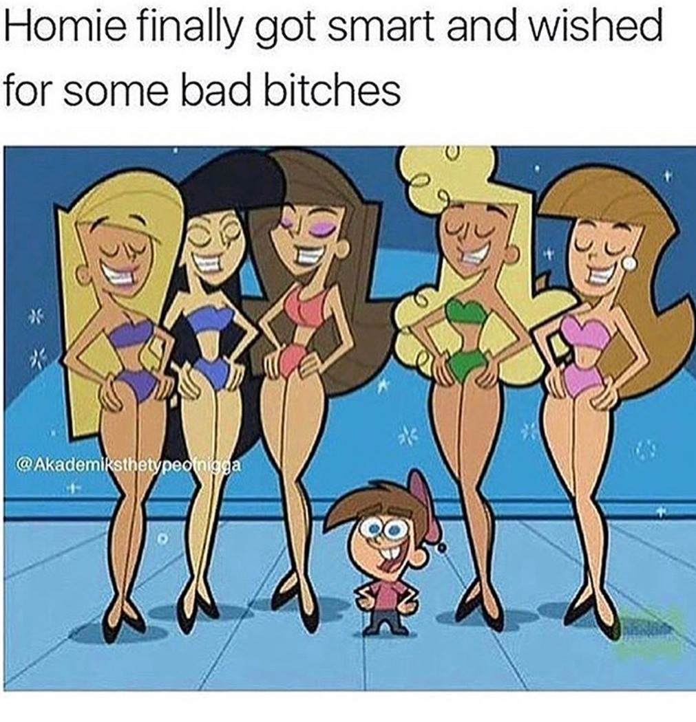 wish for five dicks but just got one - meme
