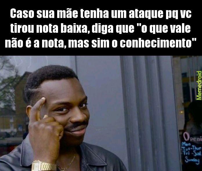 Plano infalível - meme