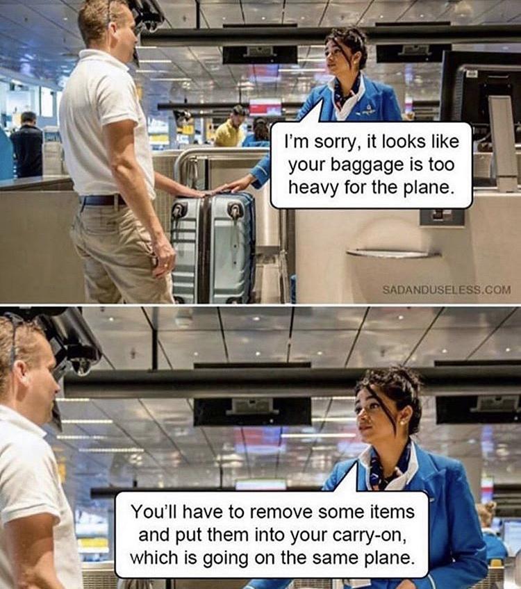 same plane - meme