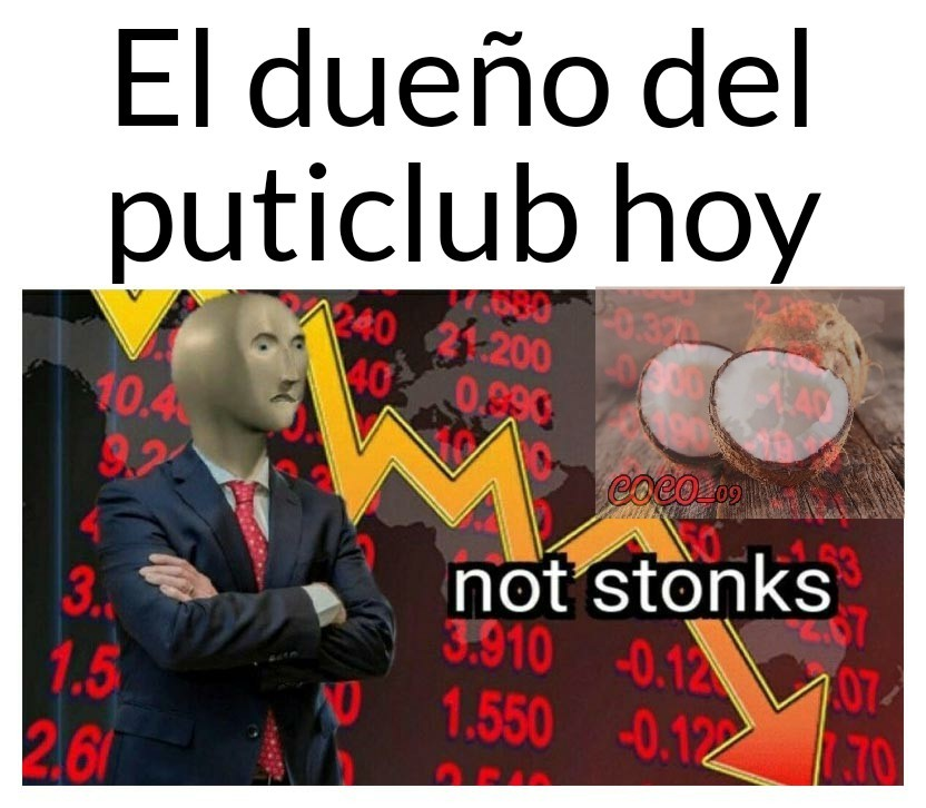 Dice stonks - meme