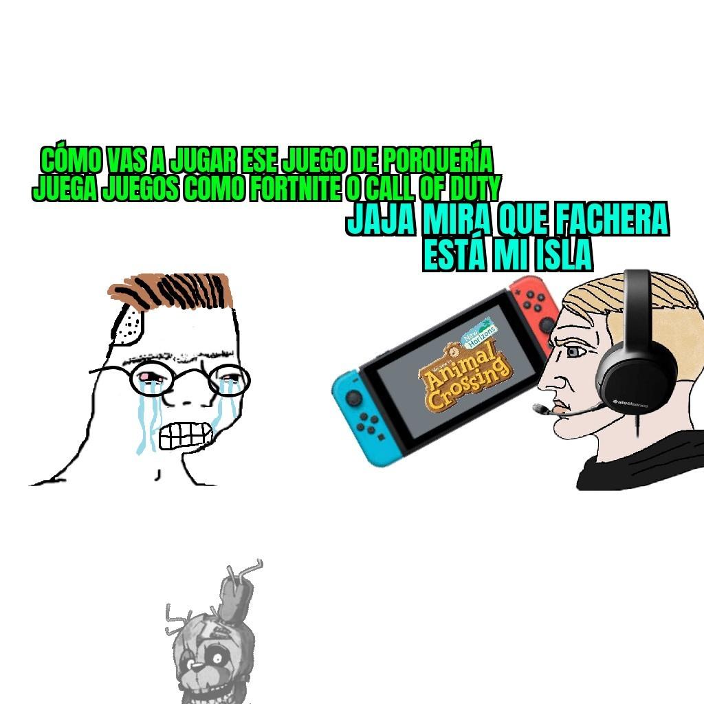 Isla fachera - meme