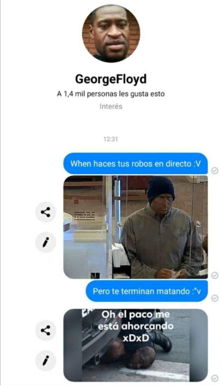 """Paco=policía, la wea re pelotuda XD y encima re lento el """"meme"""""""