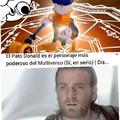 El pato donald es el personaje más poderoso del multiverso