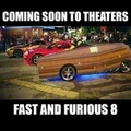 do a Paul walker (I know it's the fate of the furious)