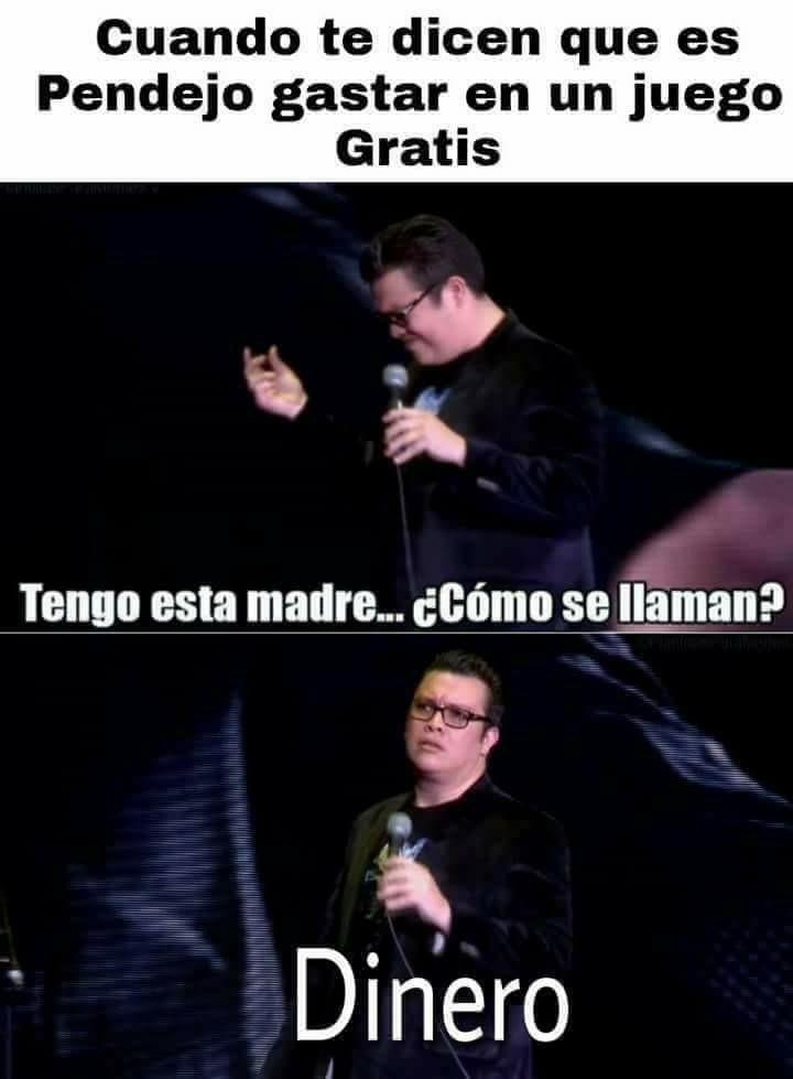 Señor Millonario - meme