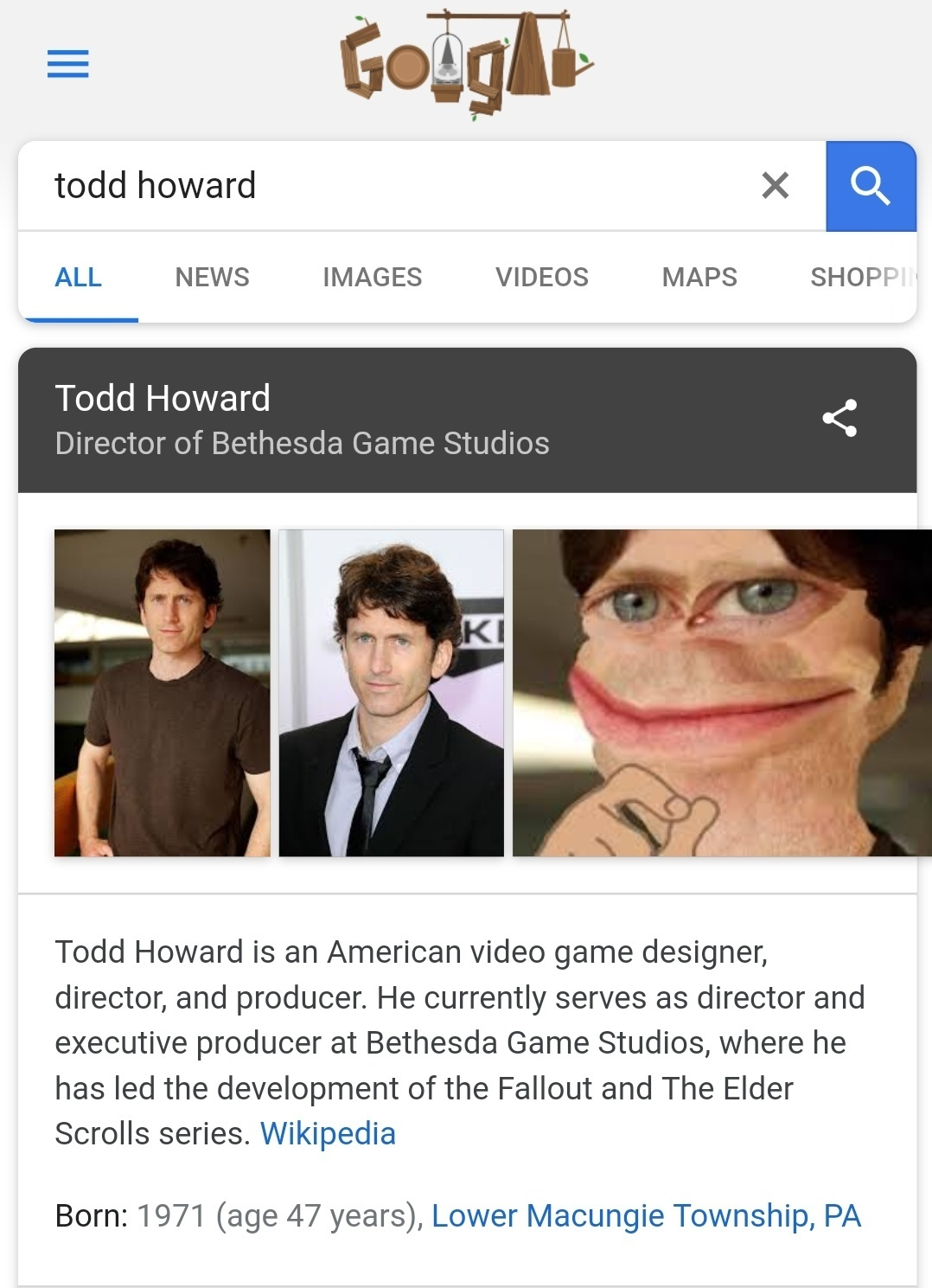 Godd Howard - meme