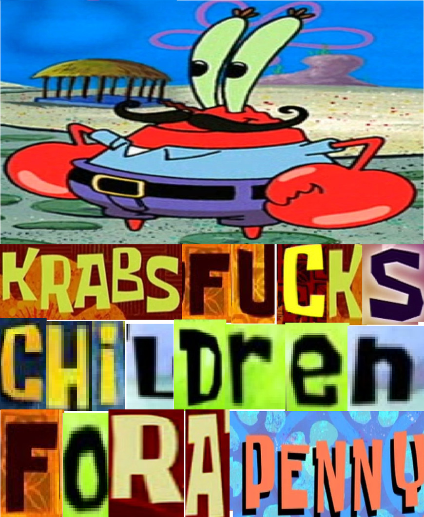 mr krabs expand dong - meme