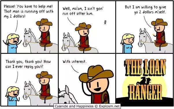 The Loan Ranger - meme