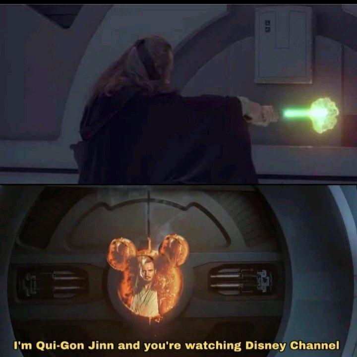 Title loves Star Wars - meme