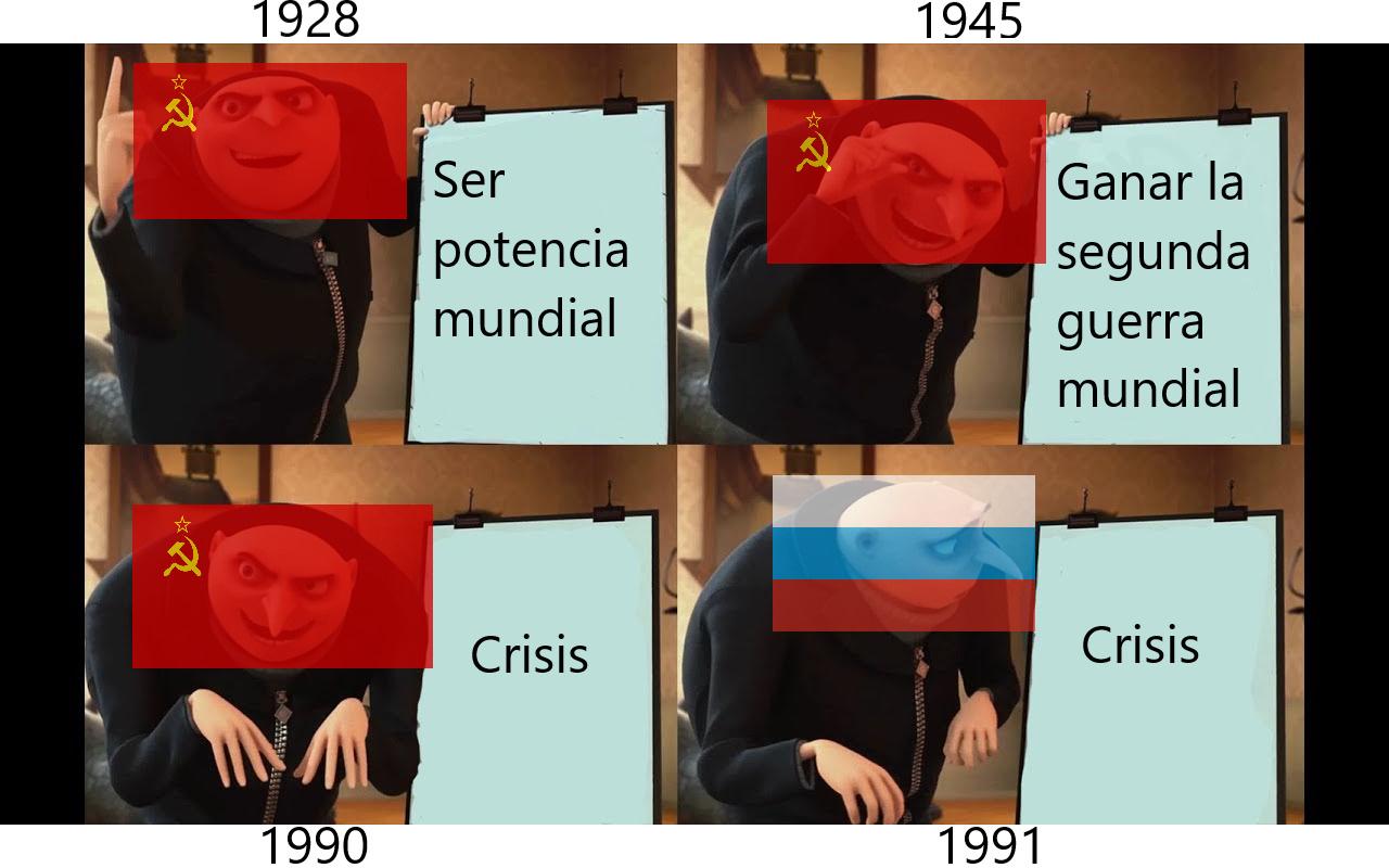 Historia de Rusia - meme