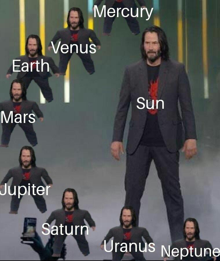 La clase de astronomia es el cuarto piso - meme