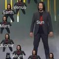 La clase de astronomia es el cuarto piso