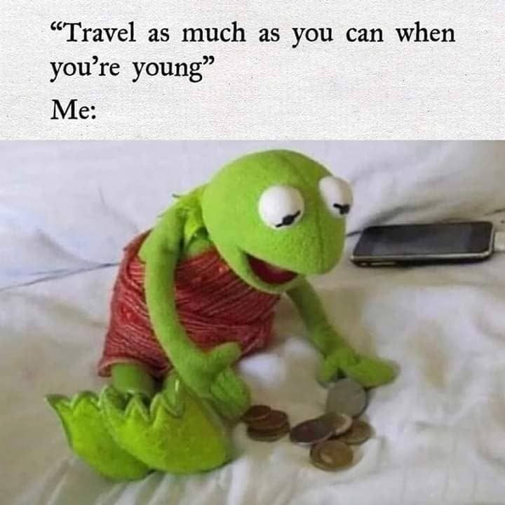 Travel issues - meme