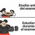 Hacer el examen antes de estudiar