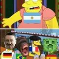 Vamos Argentina Papa!