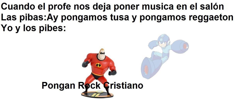 Pongan Rock Cristiano - meme