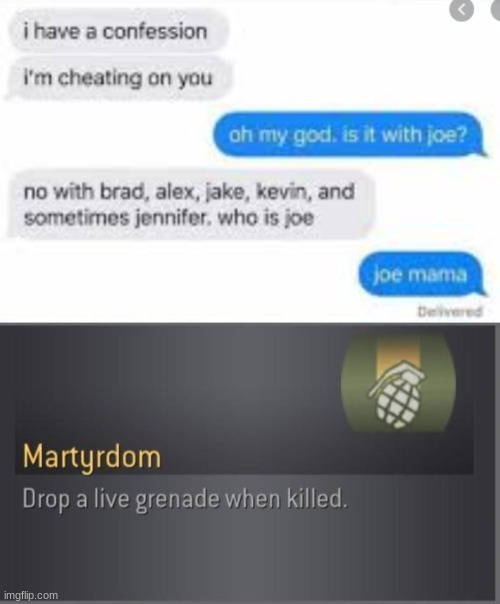 Martydom - meme