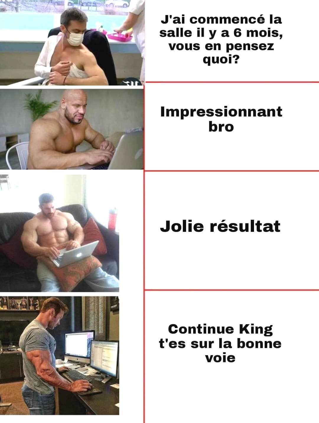 Reference à la vaccination de Olivier Veran - meme