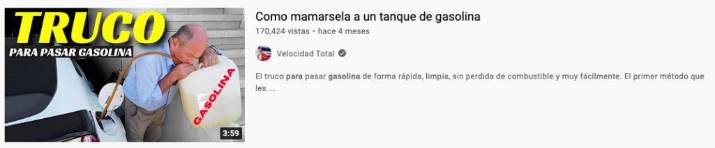 Como mamarsela a un tanque de gasolina - meme