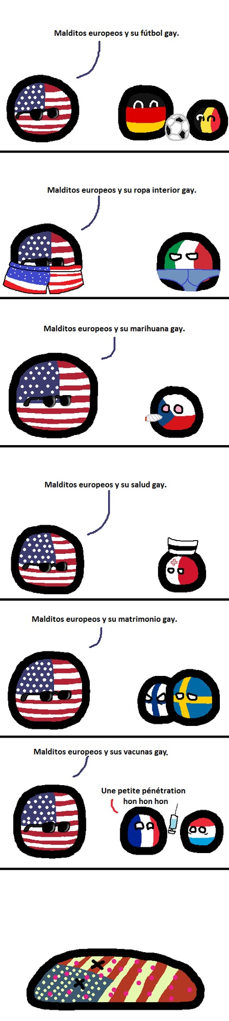 malditos europeos geis :darkstare: - meme