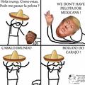 Eu amo mexicanos pra caralho