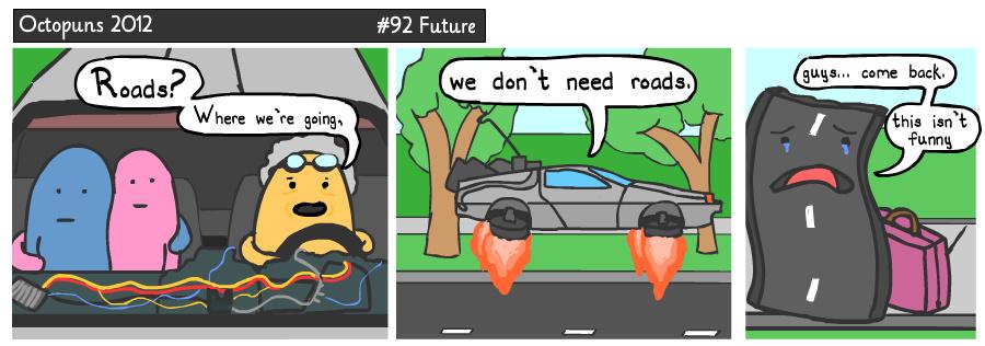 Too the futureee! - meme