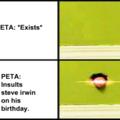 Damn you PETA