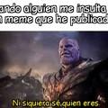 Thanos me representa