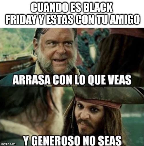 Piratas del caribe - meme