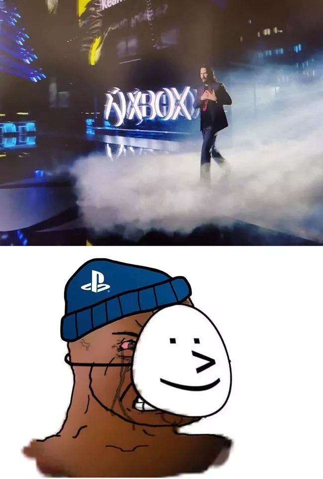 PlayStation people heaters - meme