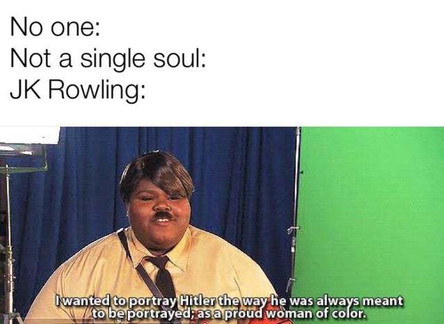 JK Rowling's version of Hitler - meme