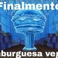 Finalmente, Hamburguesa vegana