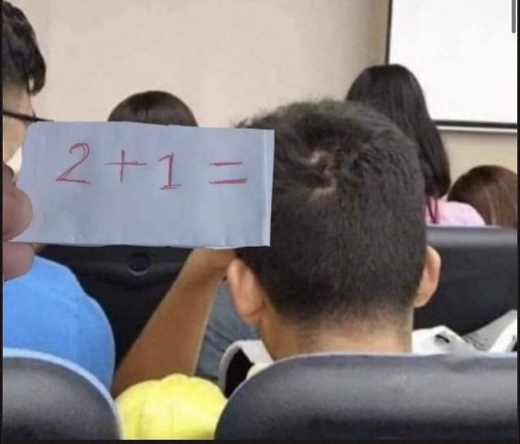 le math - meme