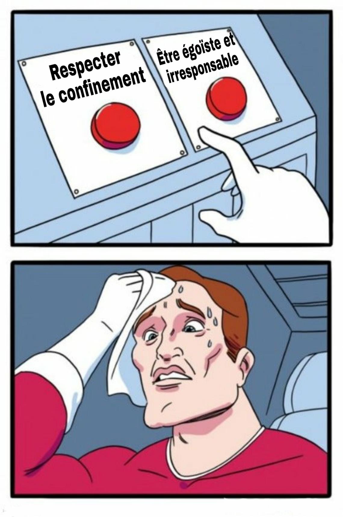 Sacrés Français - meme