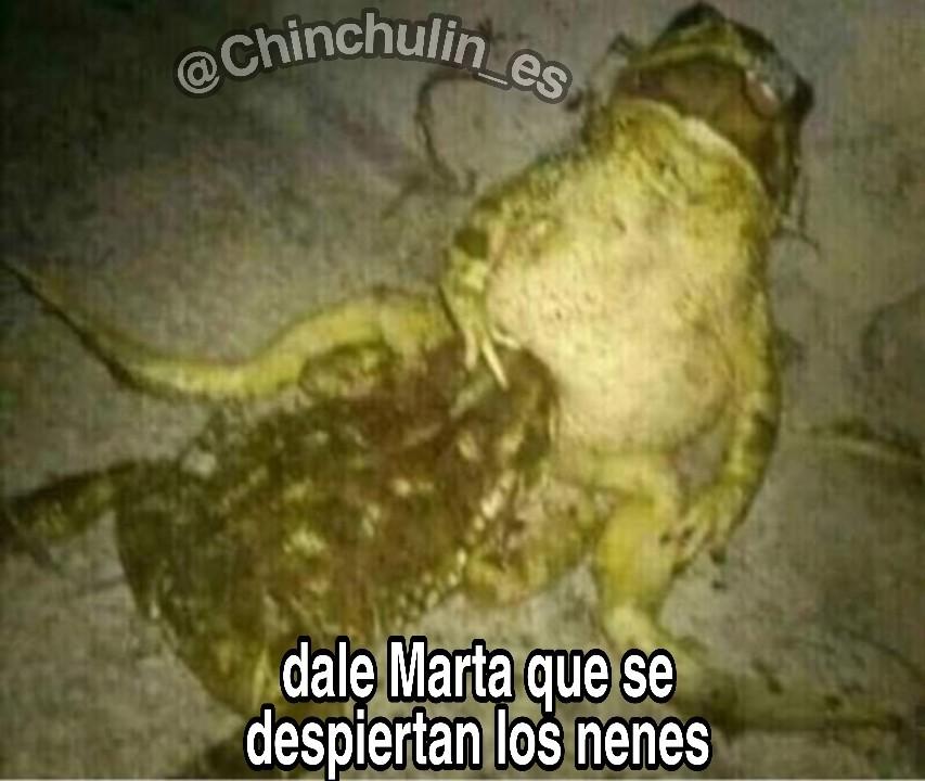 Marta - meme