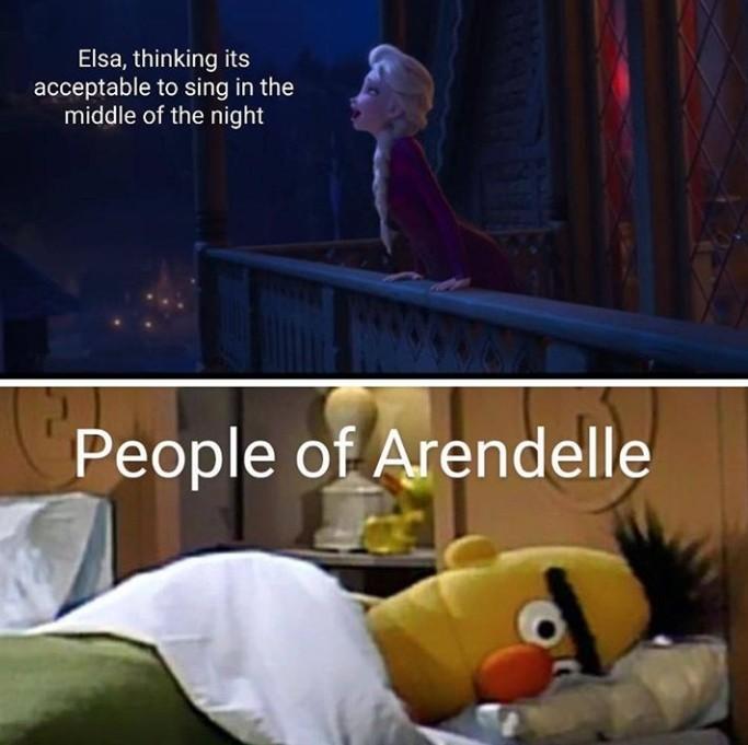 Stop singing - meme