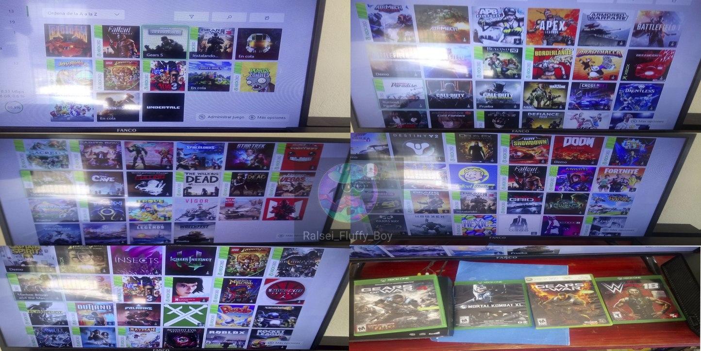 El reveal que les prometí, pd:tenía más juegos físicos pero los vendí - meme