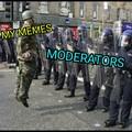 Moderation is a joke
