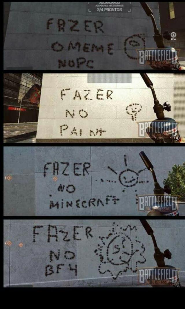 BF4 é uma delicia - meme