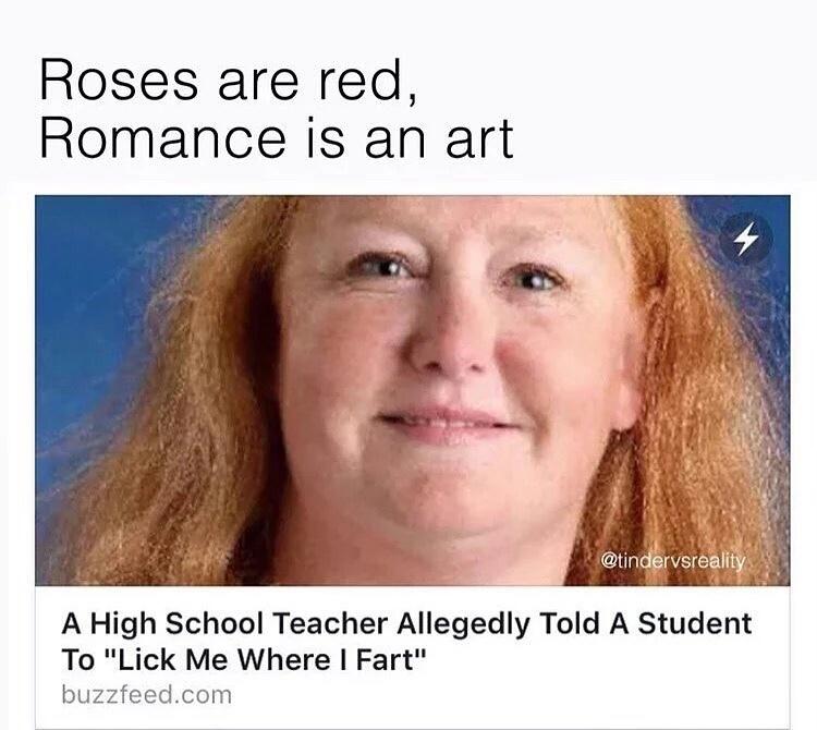 Lick me where I fart - meme